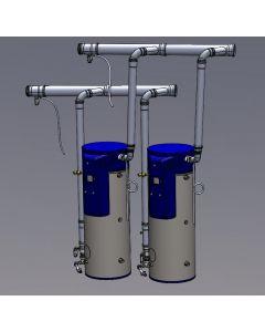 Bock Two Heater Common Vent Kit, OT125-199