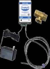 Leak Sensor and Shutoff Valve
